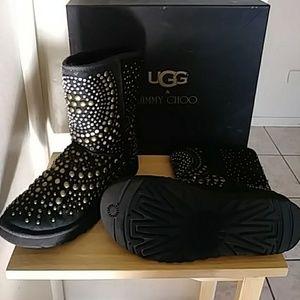0ddc4b2db09 Jimmy Choo Uggs Boots on Poshmark